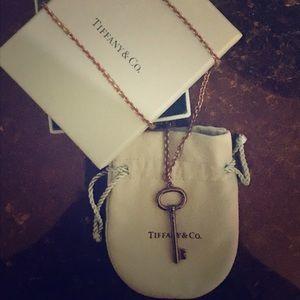 Tiffany & Co. Titanium Key & Tiffany Chain